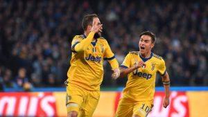 La Juventus Batte il Napoli 1-0 - Higuain Fischiato ma Segna il Gol Decisivo