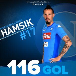 Il Napoli Batte la Sampdoria - Hamsik è Il Miglior Capocannoniere.