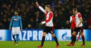 Il Napoli Battuto dal Feyenoord - Ora Finisce in Europa League