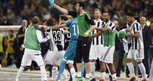 La Juventus Vince Conquista lo Scudetto - Il Napoli Batte la Sampdoria.