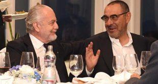 Sarri e De Laurentiis in Confidenza alla Cena del Club - Dubbi sul Futuro Azzurro.